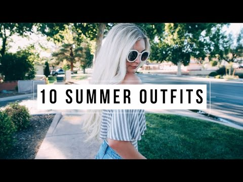 10 SUMMER OUTFIT IDEAS UNDER $50! | Aspyn Ovard