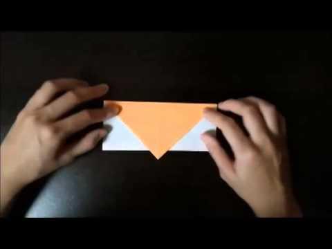 ORIGAMI Christmas bells(Xmas)How to make (折り紙のクリスマスベル)