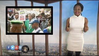 Nigerians & US Immigrant Visa; Lagos Marathon; Pastor Adeboye's Prayer Walk; Senegalese Women