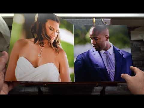 Jen & Darrell's 12x12 Wedding Album Sneak Peek