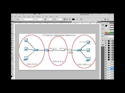 Setup NAT for the Cisco CCNA w/ Packet Tracer - Part 1