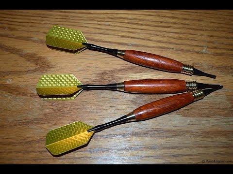 How to Turn Darts (woodlogger.com)