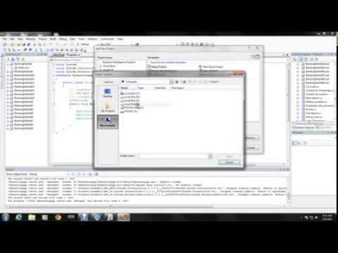 how to create setup file in visual studio.net..