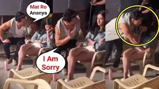 Download Ananya Pandey CRYING After Fight With Tiger Shroff On SOTY 2 Sets Video
