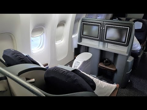 United Airlines 777 Business Class to Hawaii