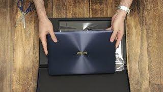 Unboxing the ASUS ZenBook 3 Deluxe