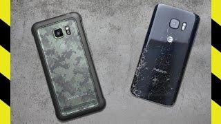 Galaxy S7 Active vs. Galaxy S7 Drop Test!