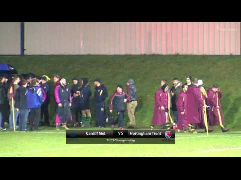 BUCS Rugby Union Championship: Cardiff Met v Nottingham Trent | KO 1900, 1 March 2017
