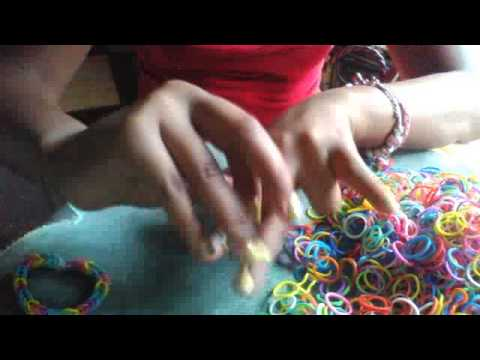 How to make fishtail bracelets without loom