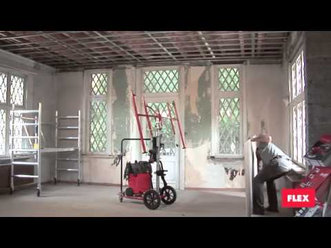 FLEX chariot drywall cart and helper