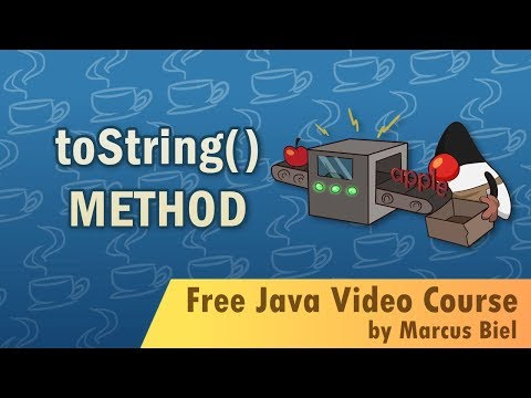 Java for Beginners 20 - toString() method