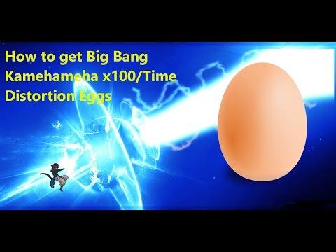 Dragon Ball Xenoverse 2 -Big Bang Kamehameha x 100/Time Distortion Eggs