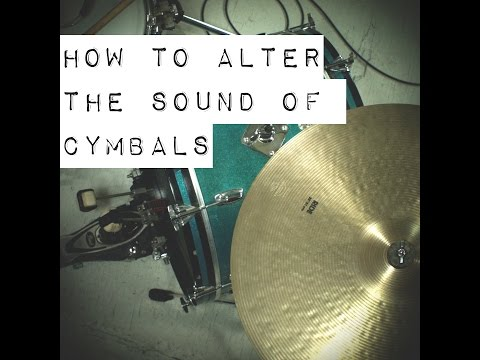 How to Alter the Sound of Cymbals with the Position of the Overhead Microphone