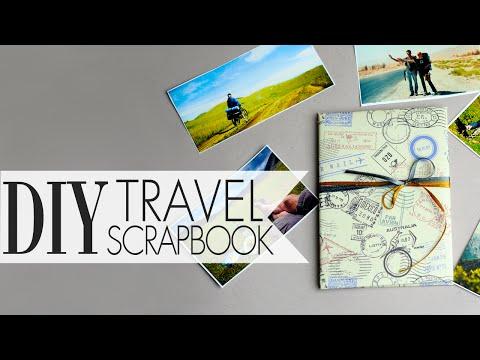 DIY Travel Scrapbook