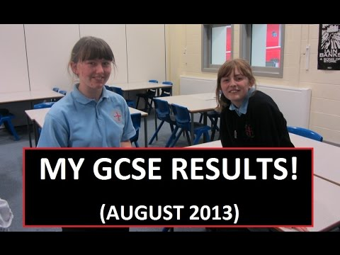 My GCSE Results! | AUGUST 2013