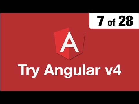 Try Angular v4 // 7 of 28 // Mapping Urls with RouterModule