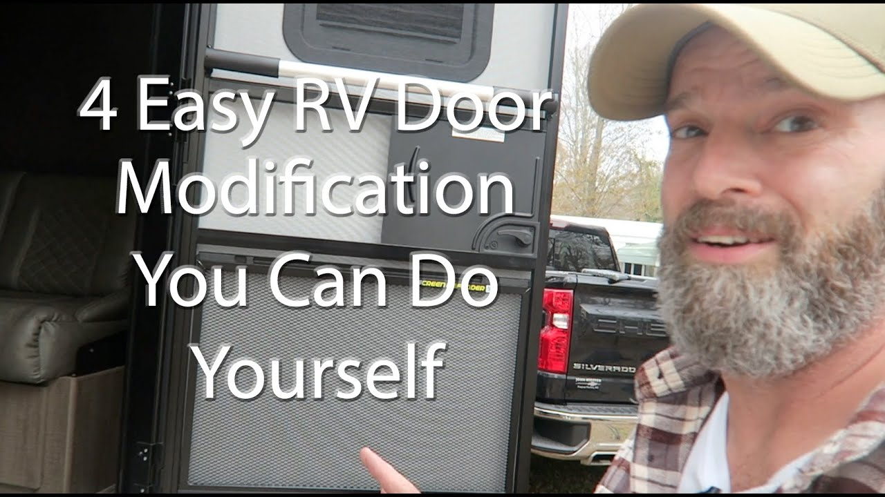 4 Easy RV Door Modifications You Need To Do Today!