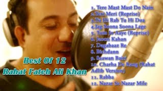 Best Of 12 Rahat Fateh Ali Khan [JukeBox]