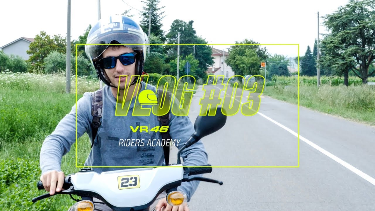 VLOG VR46 Riders Academy #03 - Niccolò Antonelli