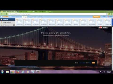 weebly tip: how to remove weebly footer advertisement very simple quick tutorial