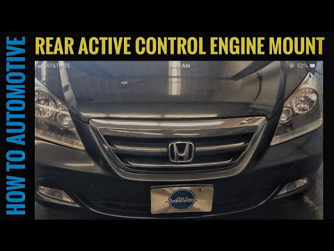 How to Replace the Rear Active Control Engine Mount on a 2005-2010 Honda Odyssey