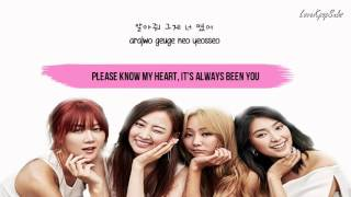 Sistar - For You [English subs + Romanization + Hangul] HD