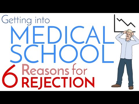 How to Get Into Medical School | 6 Reasons for Rejection