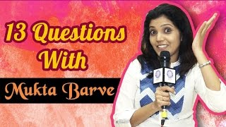 Top 13 Questions With Mukta Barve   Best Candid Session   Ganvesh Marathi Movie 2016