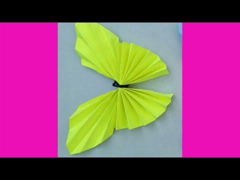 How to make butterfly using chart paper.MAKE SOME WONDERFUL.