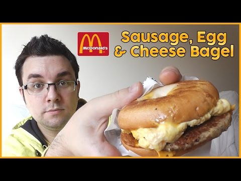 McDonald's Sausage Egg & Cheese Bagel Review