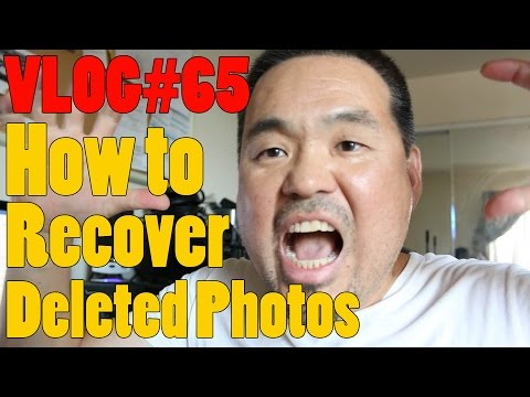 How to recover deleted photos!