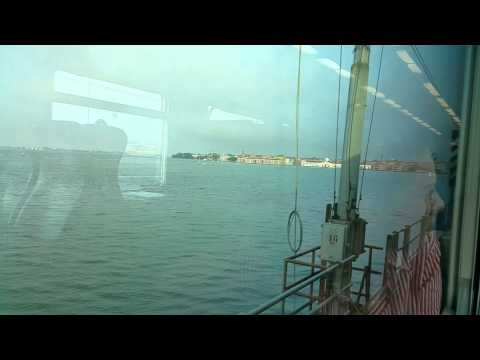 WITH TRAIN FROM VENICE MESTRE TO VENICE 2015