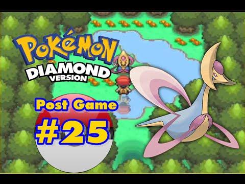 Pokemon Diamond - Post Game - Catching Cresselia