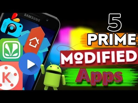 Top 5 Best Full  Modded Cracked Unlocked Android Apps (Prime apk )