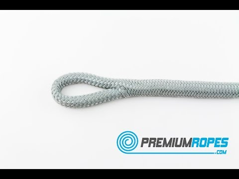 6.1 How to make an eye in double braided Polyester rope