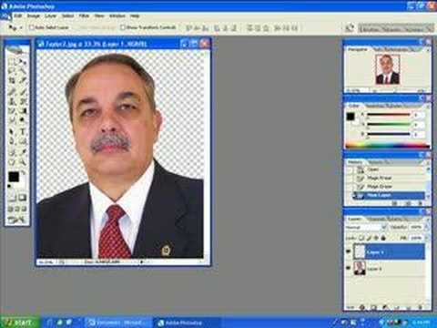 Photoshop Magic Eraser Tool