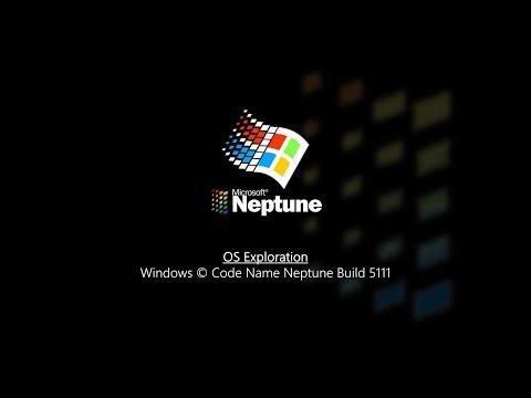 OS Exploration: Windows Code Name Neptune Build 5111