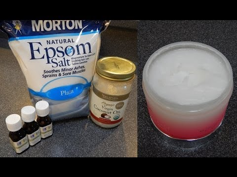 DIY Coconut Oil Body Scrub