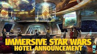 NEW Star Wars Luxury Hotel Experience at Walt Disney World   D23 Expo 2017