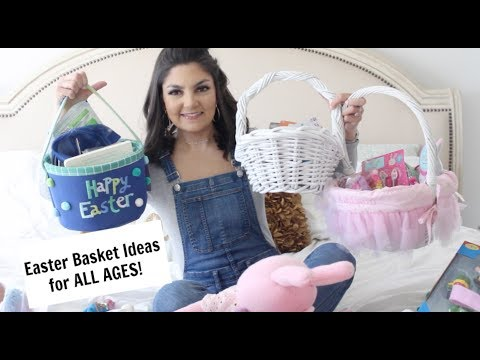 Whats In our Kid's Easter Baskets?! | BABY, TODDLER, & TEEN!!