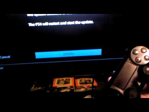 PS4 System Software Update 5.5 Hanging On Initial Download Workaround