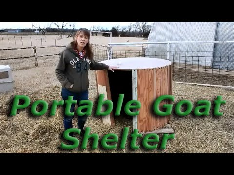 Portable Goat Shelter
