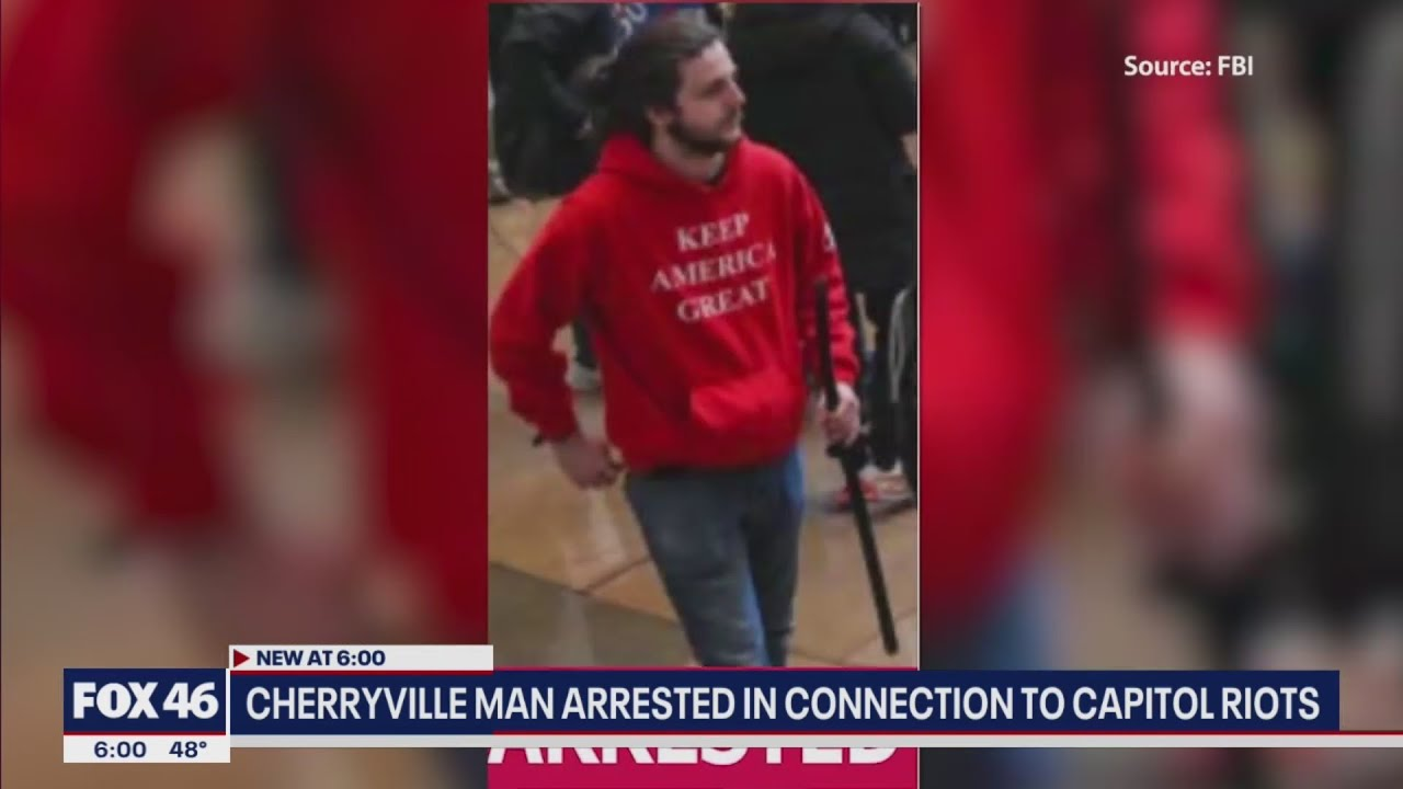 Cherryville community shocked by local man arrested for role in Capitol riot