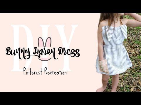DIY Bunny Apron Dress | Pinterest Recreation #6