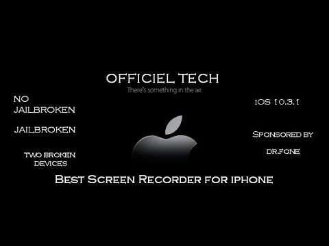 Best Screen Recorder for iOS 10.3.1