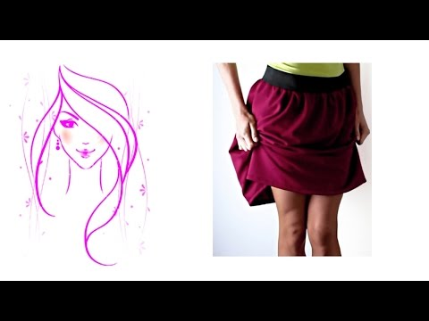 MORENA DIY: HOW TO MAKE SKIRT WITH ELASTIC TUTORIAL