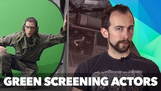 How to Green Screen: Put actors inside 3D helicopters!