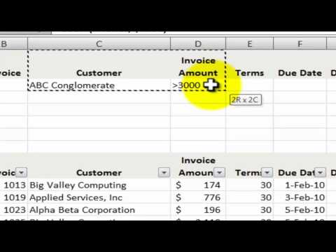 How to Use Database Functions in Excel for Tables and Lists