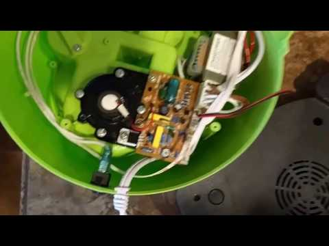 Crane Ultrasonic Humidifier low mist - SOLVED