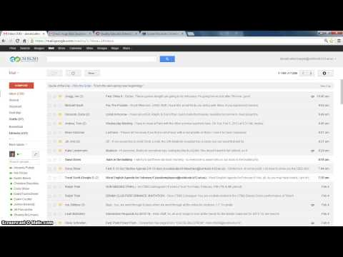 Archiving emails in Google Mail